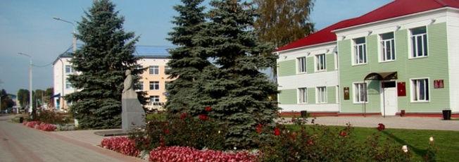 Лиозно. Центральная площадь