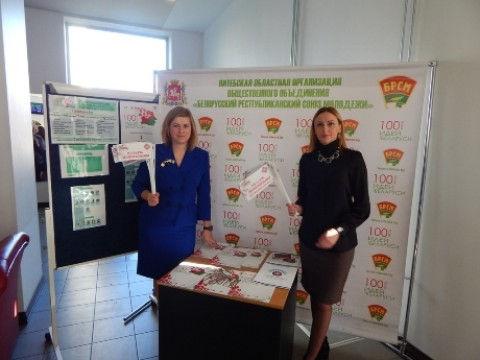 Презентация республиканского проекта 100 идей для Беларуси в г. Елгава (Латвия) молодежью Лиозненского района