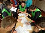 Один из этапов районной спартакиады среди несовершеннолетних, состоящих на различных видах учета