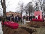 В Лиозненском районе состоялось перезахоронение останков погибших воинов в годы Великой Отечественной войны