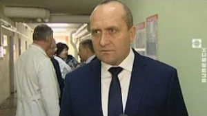 Заместитель главы Администрации Президента Владимир Жевняк встретился с трудовым коллективом Лиозненской больницы